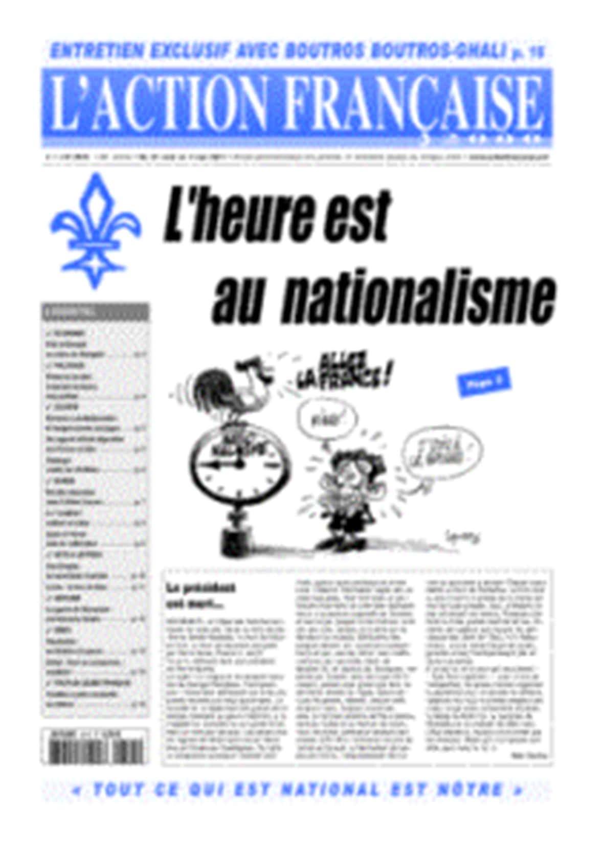Action française 2815