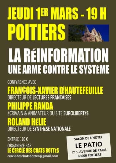 Conference sur la réinformation