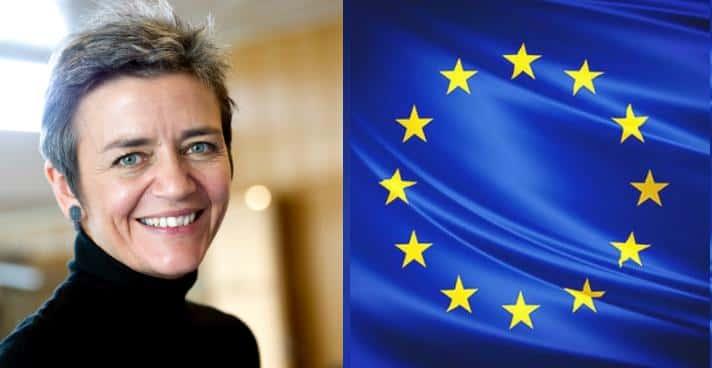 Margrethe Vestager, la commissaire danoise.