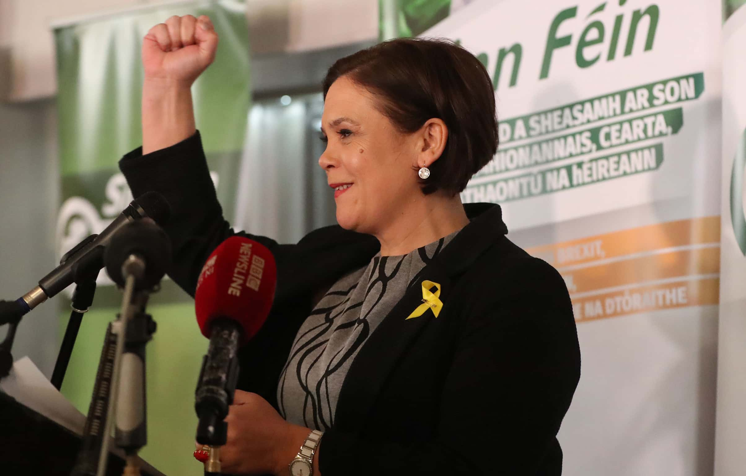 Mary Lou McDonald.