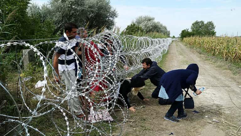 Migrants en Hongrie, 2015 – Crédit : Gémes Sándor.