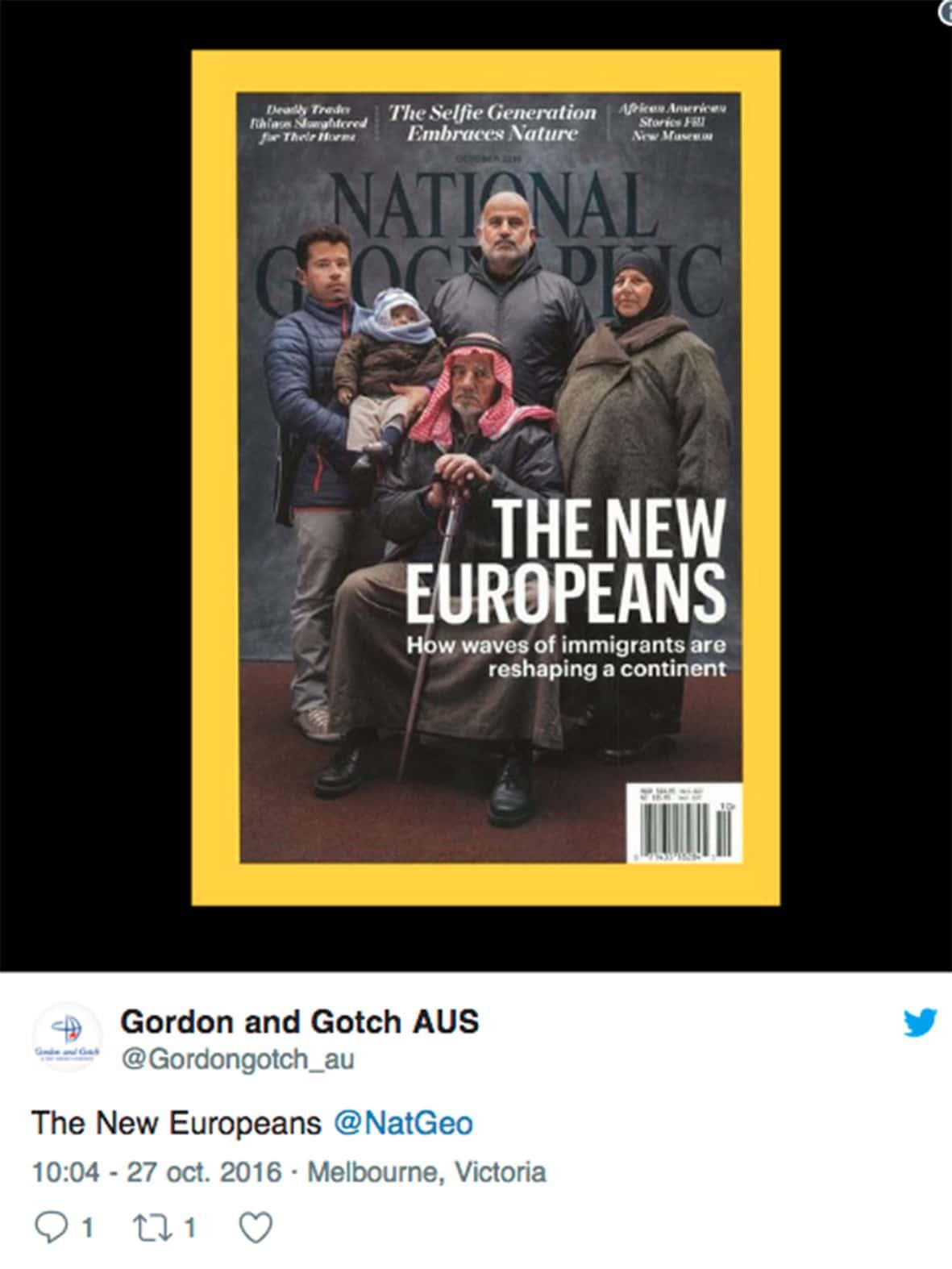 Nouveaux Européens