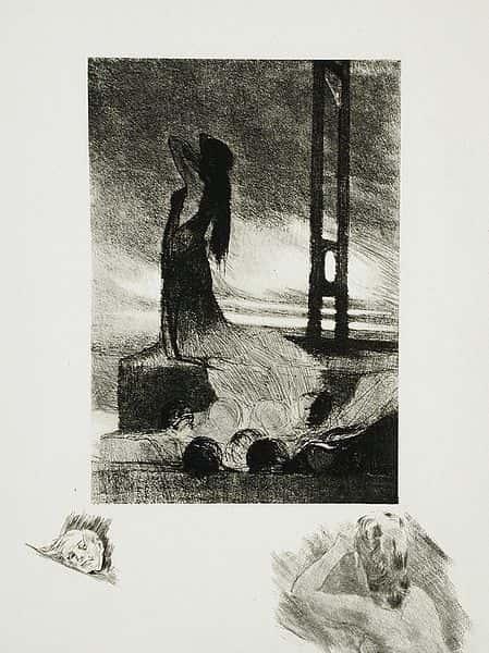 L'œuvre lithographié de Félicien Victor Joseph Rops (Belgique, Namur, 1833-1898).