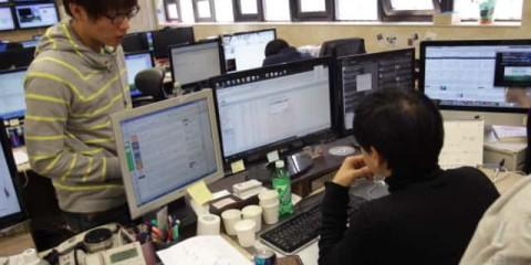 Hackers nord-coréens.
