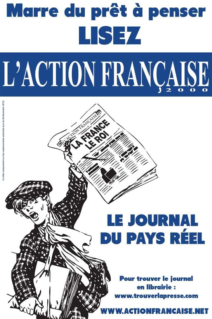 vente Action Française criée