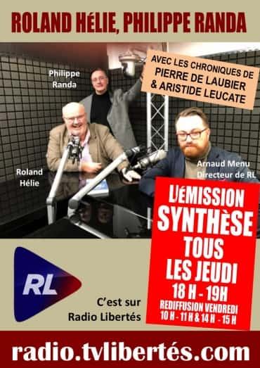 Emission Synthese Radio Liberté