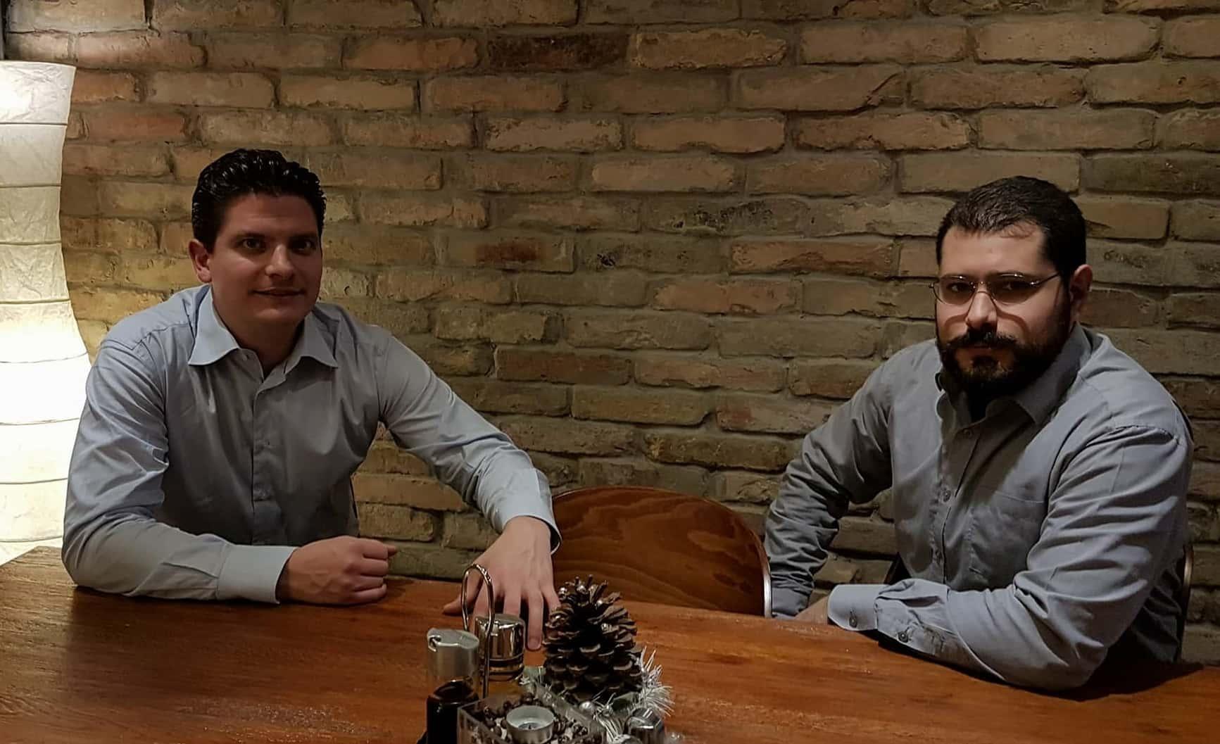 Gábor Tóth et Ferenc Almássy à Budapest, début décembre 2017.