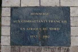 Hommage combattants AFN 1952-1962