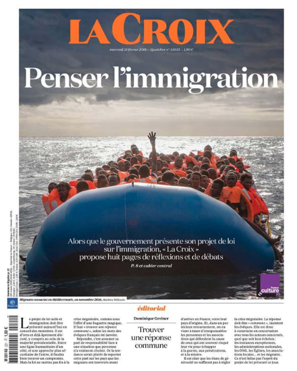La Croix immigration