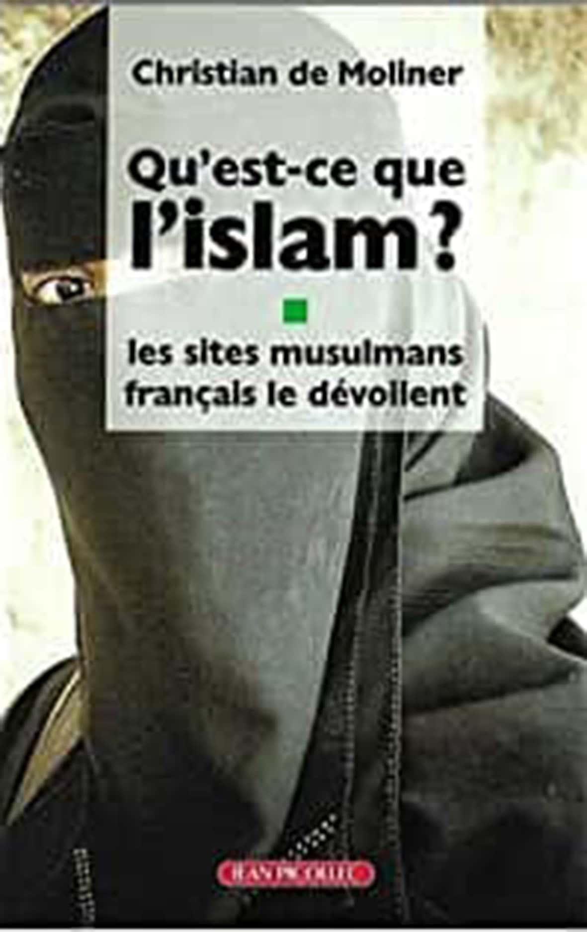 Qu'est-ce que l'islam? Christian de Moliner (Jean Picollec éditeur, 170 pages, 15euros).