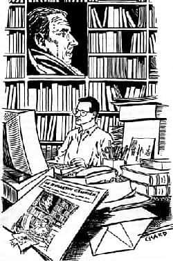 Marc Laudelout, éditeur du Bulletin célinien.