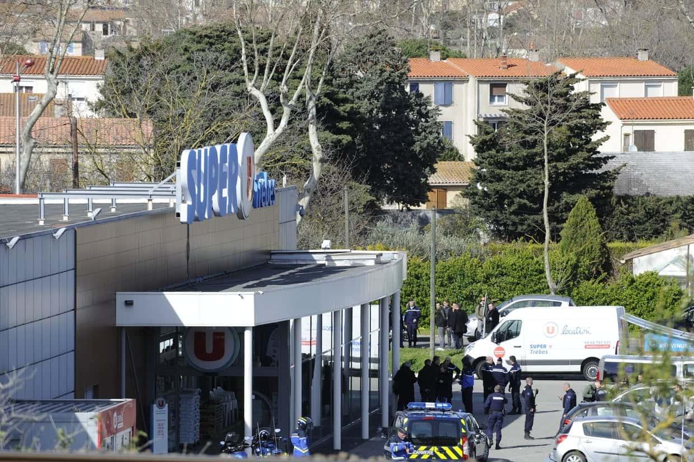 Trois morts, 16 blessés : bilan de l'attaque terroriste de Redouane Lakdim entre Carcassonne et le Super U de Trèbes.