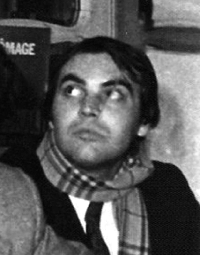 Alain Renault à l'époque d'Ordre nouveau.