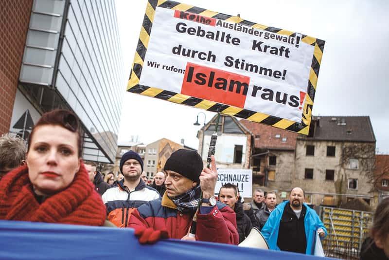 L'Allemagne en proie à l'antisémitisme.