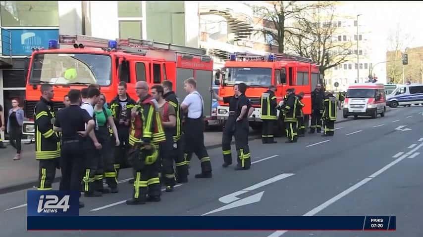 Camionnette suicide de Münster.