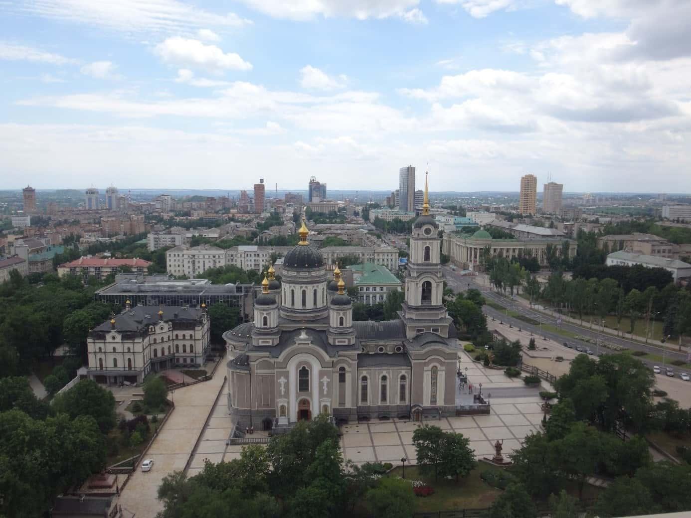Cathédrale Donetsk.