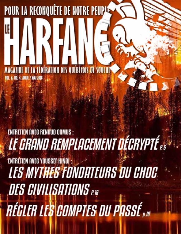Harfang avril-mai 2018