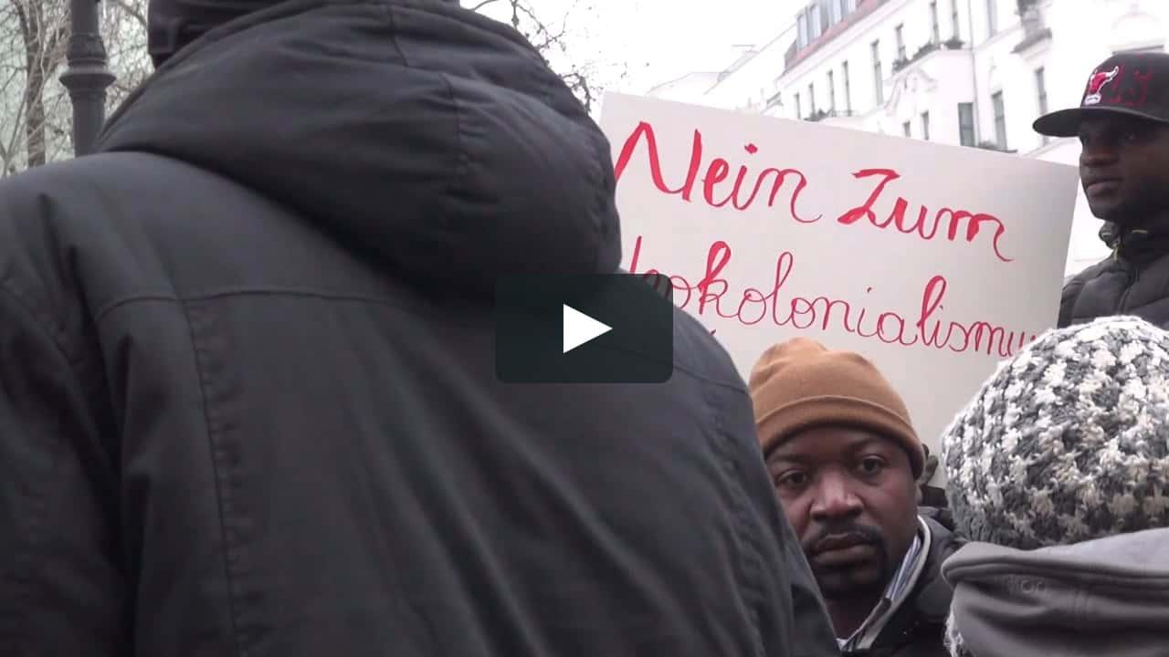 Manifestation immigraton Allemagne