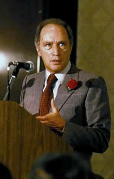 Pierre Eliott Trudeau.