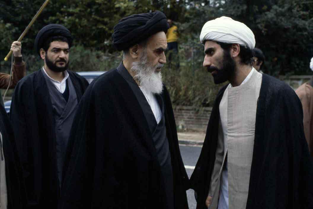 Ruhollah Khomeini à Neauphle-le-Château