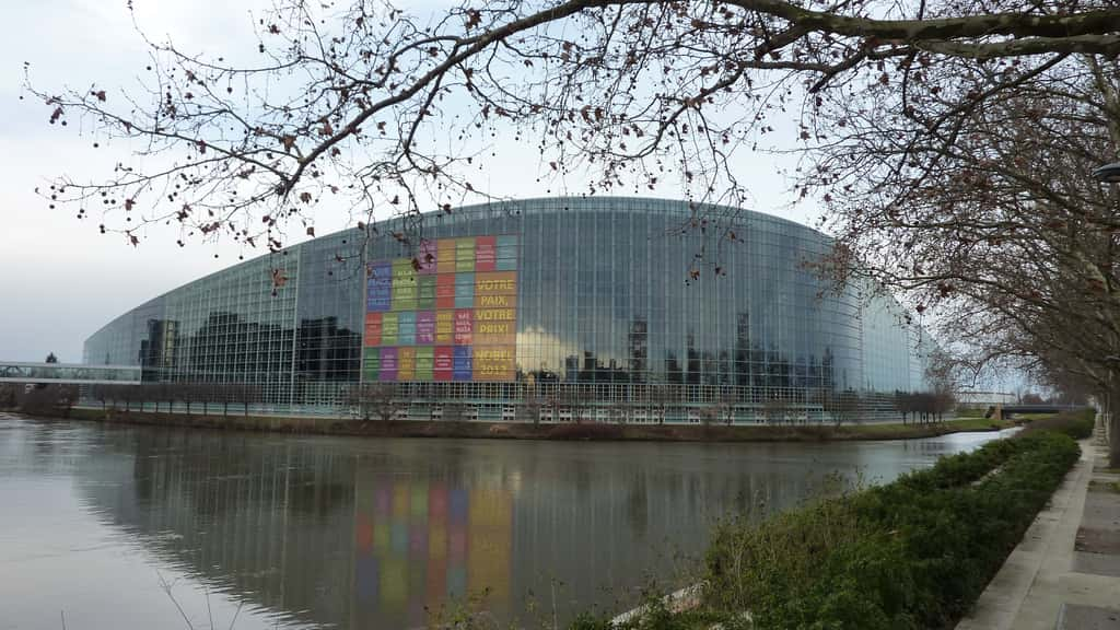 Siège du Parlement européen à Strasbourg.
