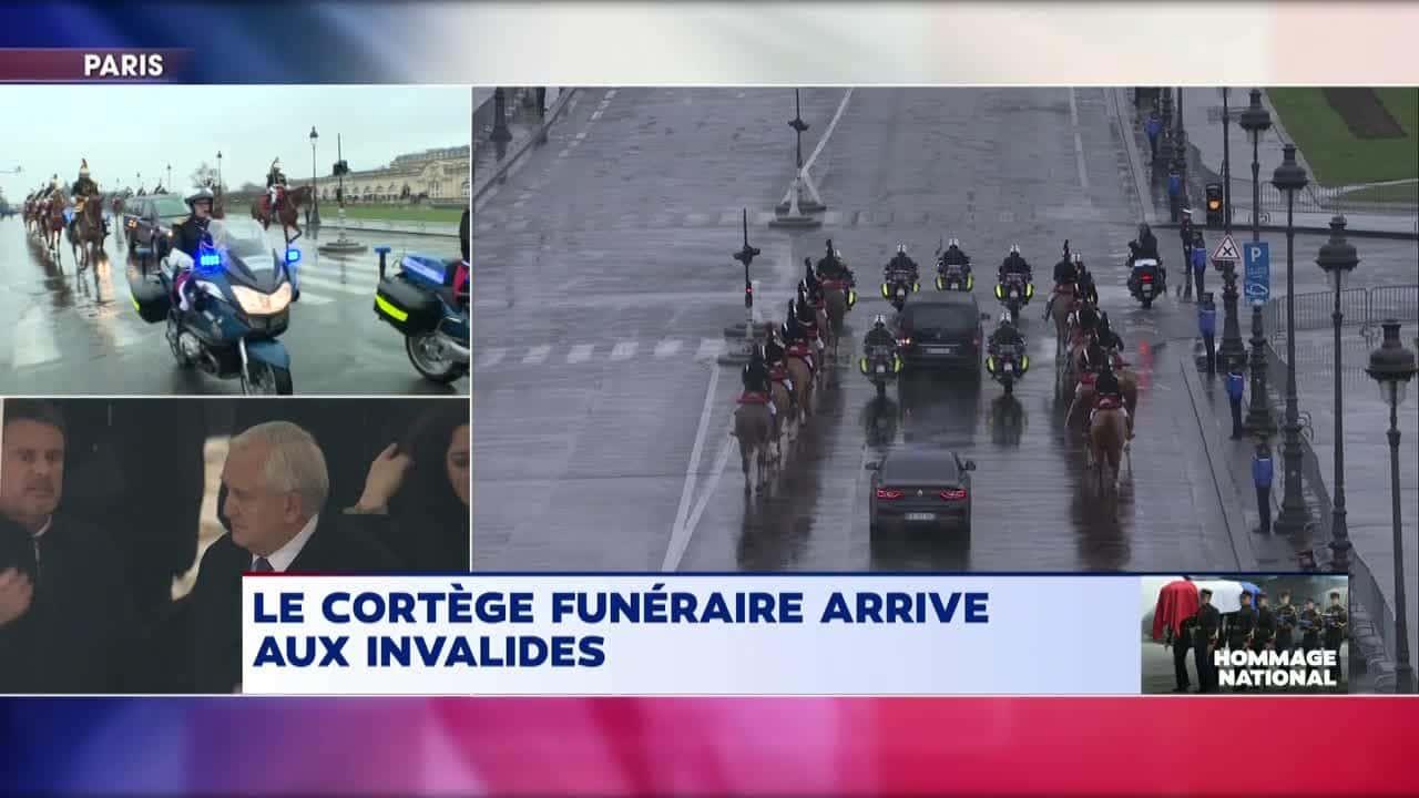 cortege funeraire Arnaud Beltrame