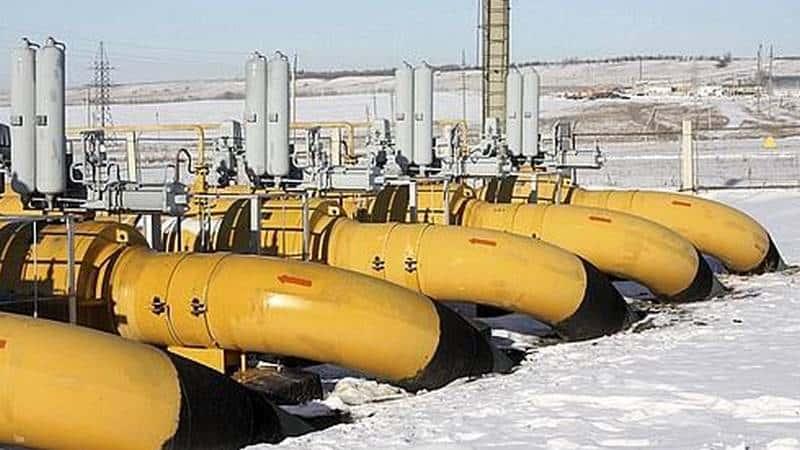 Gaz naturel Gazprom.