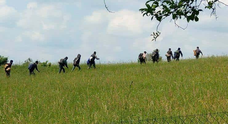 Bosnie migrants
