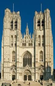Cathédrale Saints-Michel et Gudule de Bruxelles.