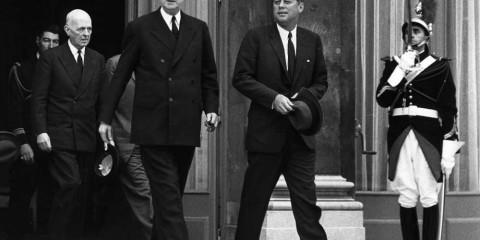 De Gaulle Kennedy