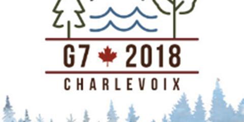 Logo du G7 2018.