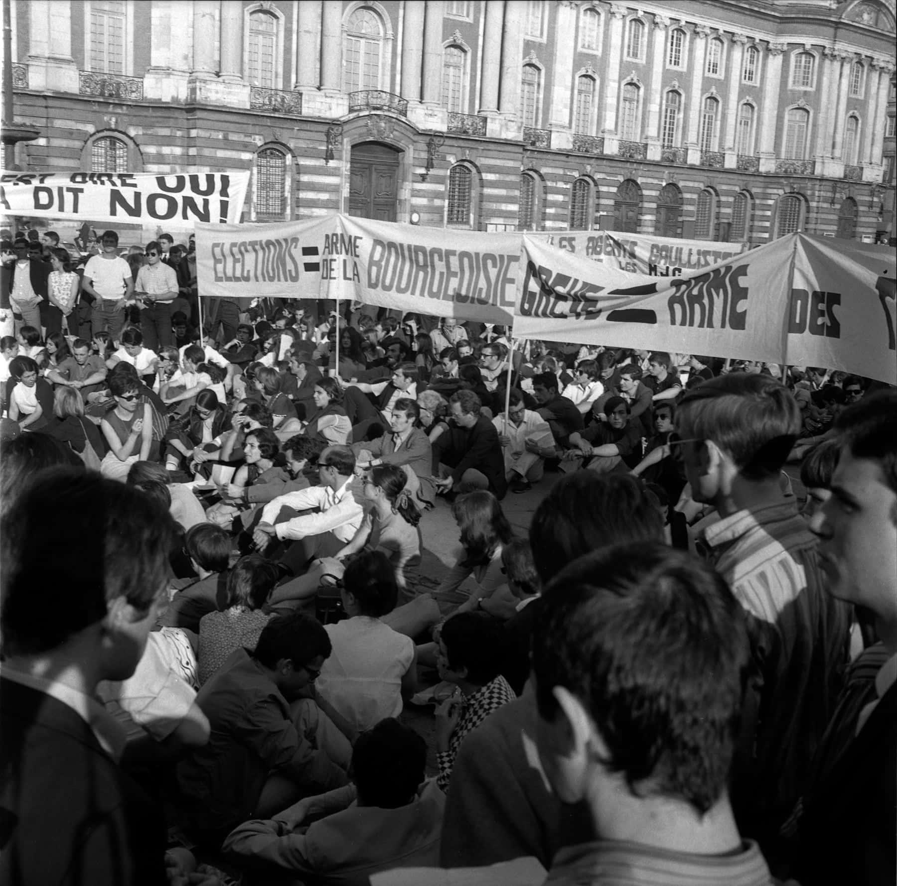 Mai 68. Nuit d'émeutes