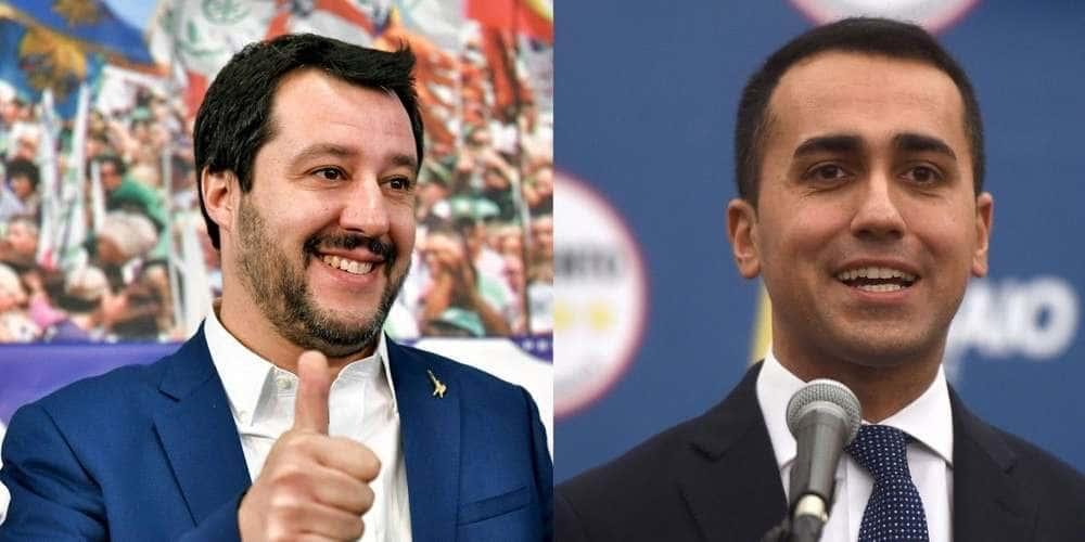 Matteo Salvini et Luigi di Maio.