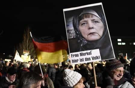 Merkel voilée.