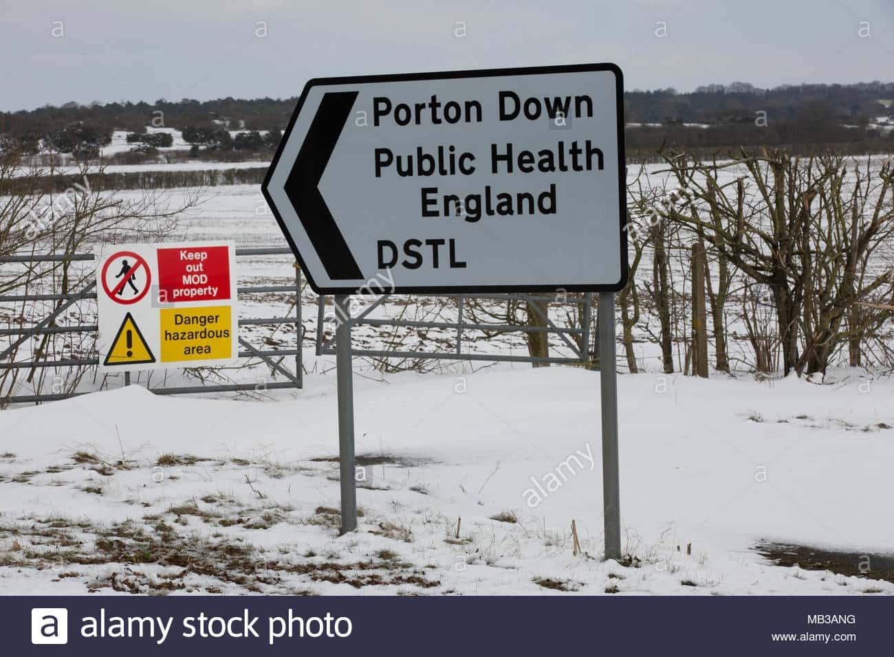 Porton Down, secret défense militaire, laboratoire de recherche du ministère de la Défense Defence.