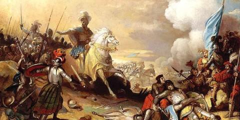 1515 - La bataille de Marignan.