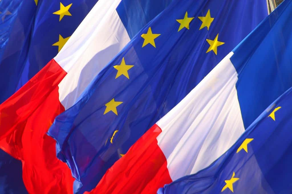 drapeau europeen france