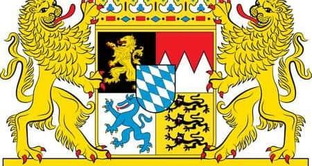 Armoiries de l'État libre de Bavière.