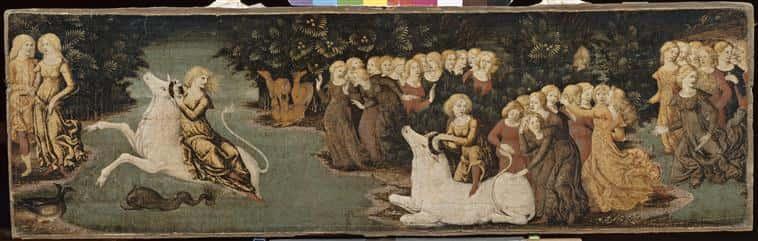 L'Enlèvement d'Europe Liberale da Verona (vers 1445-1528/1529) Paris, musée du Louvre.