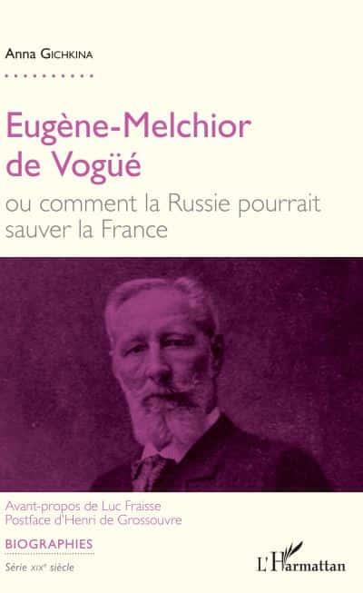 Eugène-Melchior de Vogüe par Anna Gichkina.