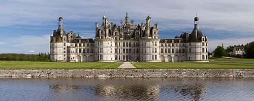 La façade nord du château de Chambord.