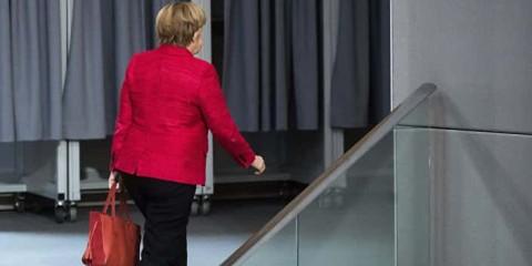 Chancelière Merkel.