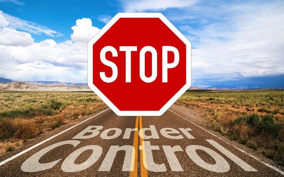La frontière USA-Mexique.