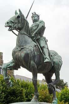 Bertrand du Guesclin.