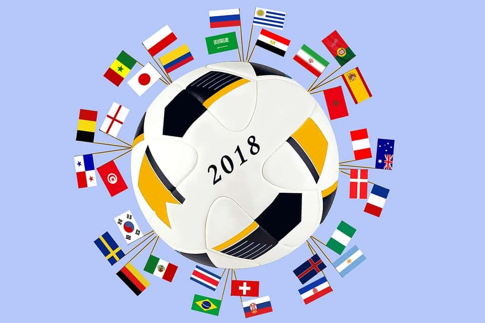 Coupe du monde football 2018.