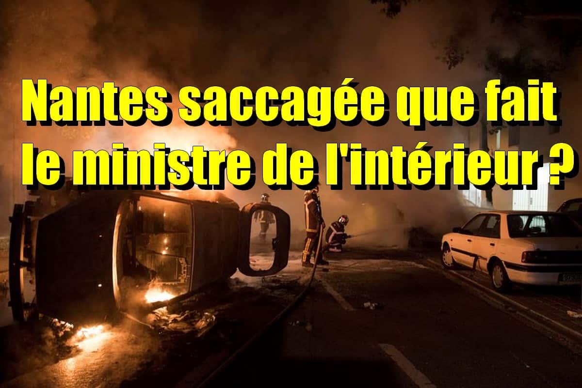 Emeutes Nantes