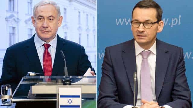 Morawiecki et Netanyahou.