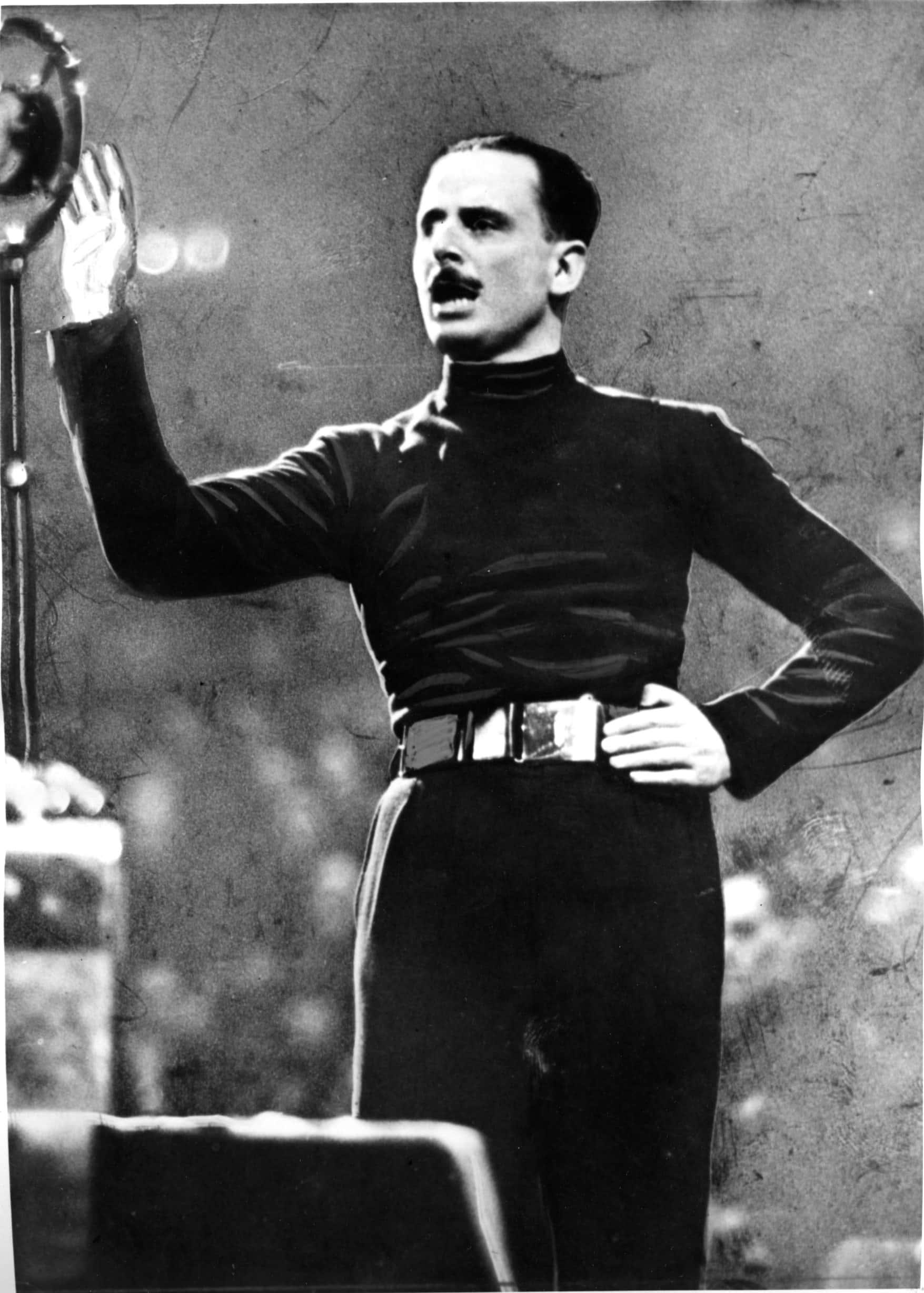 Oswald Mosley.