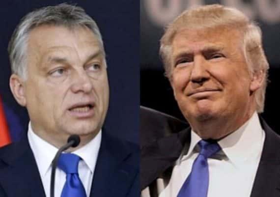 Trump et Orban