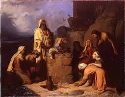 Le sacrifice de Noé par Jean Murat.